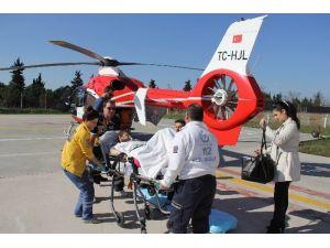 Ambulans Helikopter Kalp Hastası İçin Havalandı