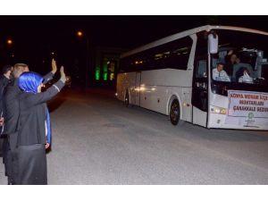 Meram'da Muhtarlar Çanakkale'ye Gitti