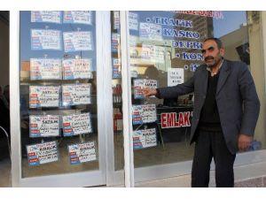 Ceylanpınar'da Emlak Satışları Durma Noktasına Geldi