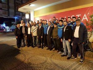 Adana Toros Byz Spor' Dan Final Yemeği