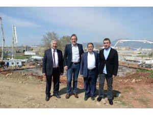 Bursa'nın İlk Özel Teknik Lisesinin Temeli Atıldı