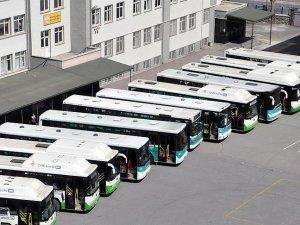 Kayseri'de halk otobüslerine bilet operasyonu
