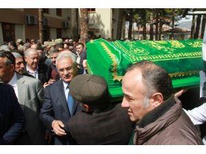 Vali Nayir'in Babası Yusuf Nayir Son Yolculuğuna Uğurlandı