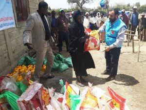 Tdv, Zor Günler Yaşayan Etiyopya'ya 75 Ton Gıda Yardımı Yaptı
