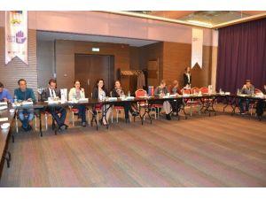 """Trabzon'da """"Aile İçi Şiddetle Mücadele Projesi"""" Bilgilendirme Toplantısı"""