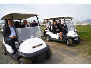 TKB Üyeleri Golf Sahasını Gezdi