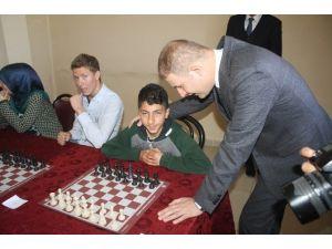 Hasköy'de Satranç Turnuvası Yapıldı