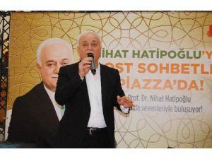 Nihat Hatipoğlu Kahramanmaraş'ta Sevenleriyle Buluştu