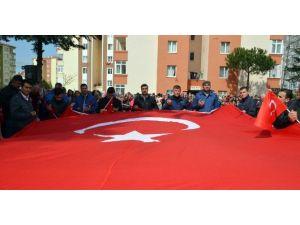 Şehit Uzman Çavuş Emre Sarıtaş, Silivri'de Son Yolculuğuna Uğurlandı