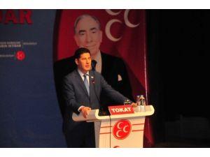 Eski MHP Milletvekili Sinan Oğan, Tokat'ta