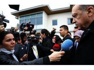 Cumhurbaşkanı Erdoğan Azeri Televizyonuna Konuştu