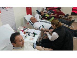 Han Belediyesi'nden Kan Bağışı