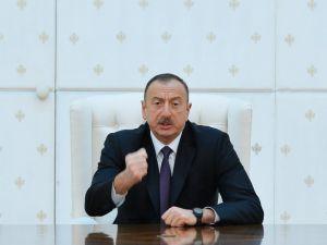 Aliyev: Düşmana hak ettiği karşılık verilecek