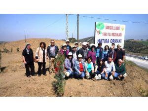 Sarıgöl Lisesi Mezunları Hatıra Ormanı Oluşturdu