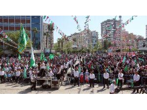 Adana'da Kutlu Doğum Coşkusu