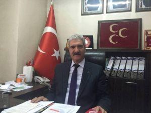 MHP Afyonkarnahisar İl Başkanı Demirel'in Alparslan Türkeş'in Ölüm Yıl Dönümü Mesajı