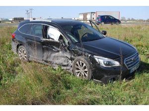 Çerkezköy'de Trafik Kazası: 5 Yaralı