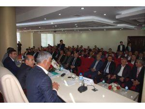 Bakan Yılmaz, Adıyaman'da İş Adamı, Sanayici Ve STK'larla İstişare Toplantısı Yaptı
