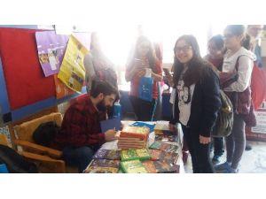 Gazipaşa Ortaokulu'nda Öğrenciler Yazarlarla Buluştu