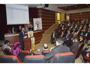 AK Parti Nisan Ayı İl Danışma Meclisi Toplantısı Yapıldı