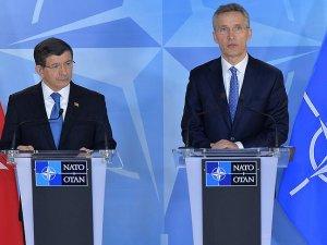 Başbakan Davutoğlu, NATO Genel Sekreteri ile görüştü