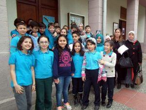 Aydın'da Öğrenciler Kütüphaneyi Ziyaret Etti