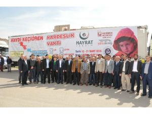Bayırbucak Türkmenleri İçin Hazırlanan Yardım Tır'ları Yola Çıktı
