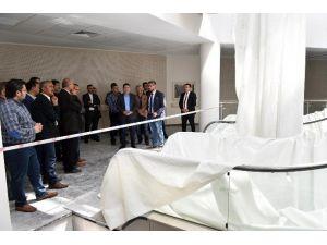 Başkan Tütüncü, Kepez Devlet Hastanesini Gezdi
