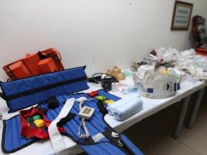 Sağlık Merkezinden Çalınan Malzemeler Ele Geçirildi