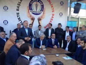 Sağlık Sen Diyarbakır Şube Başkanlığı İstişare Toplantısı Yaptı