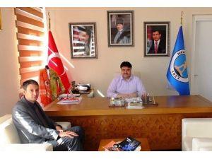 Yeni Müdür'den Başkan Ersoy'a Tanışma Ziyareti