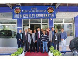 Başkan Atabay'dan Cem Evi Ve Ekk'ya Hayırlı Olsun Ziyareti