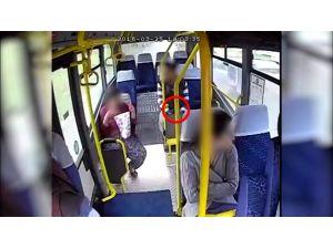 Otobüslerdeki güvenlik kameraları hırsızları yakalatıyor