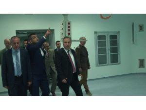 Vali Fidan Ve Başkan Keleş Devlet Hastanesini İnceledi