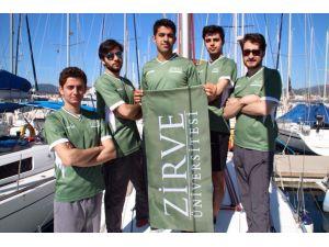 Zirve'li yelkenciler ikinci oldu