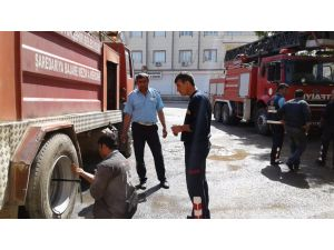 Nusaybin'de şiddetli patlama ve silah sesleri