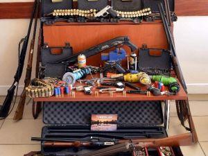 Aydın'da Silah İmal Edilen İşyerine Operasyon