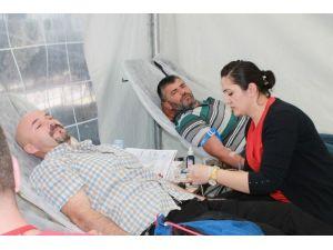 Kızılay Kan Merkezi 2 Ay Manavgat'ta