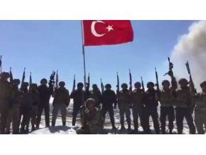 Güvenlik Güçleri, Türk Bayrağı Altında Yüksekova'yı Marşla İnletti