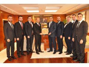 Gagiad Yönetimi Vali Yerlikaya'yı Ziyaret Etti