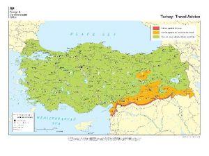 İngiltere'den Vatandaşlarına Türkiye'ye Seyahat Uyarısı