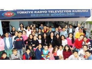 TRT Erzurum Müdürlüğü THM Çocuk Korosundan Bir Canlı Yayın Daha…