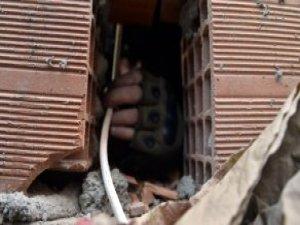 Nusaybin'de El Yapımı Patlayıcının İmha Anı Görüntülendi