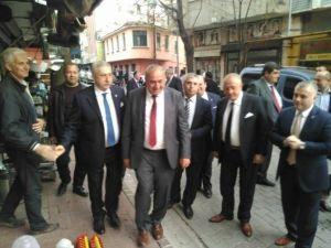 Tesk Genel Başkanı Palandöken Başkan Alparslanı Ziyaret Etti