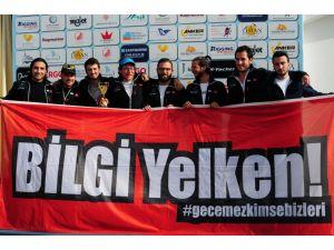 İstanbul Bilgi Üniversitesi Yelken Takımı, şampiyon oldu