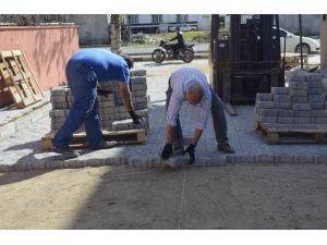 Turgutlu'da İlknur Ve Balkan Sokak Parke Taşına Kavuştu