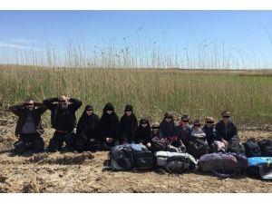 Sınırda Daeş'ten Kaçan 12 Kişi Yakalandı