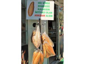 Kırşehir'de 'Askıda Ekmek Var' kampanyası başlatıldı