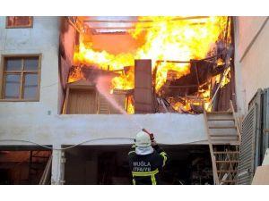 Fethiye Sanayiinde Yangın