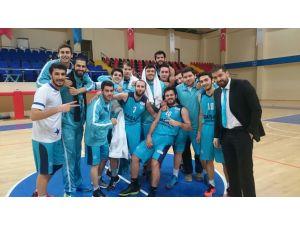 Başarı Üniversitesi Basketbol takımı 1. Lig'e yükselmeyi garantiledi